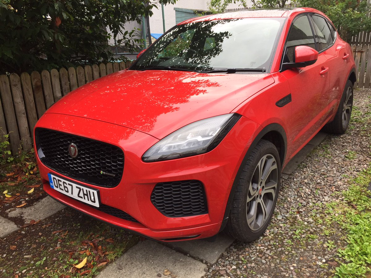 A Jaguarukpr E Pace Is The Latest Car To Grace Alsuttie S Driveway See What He Thought Of It In This Week Secret Diary