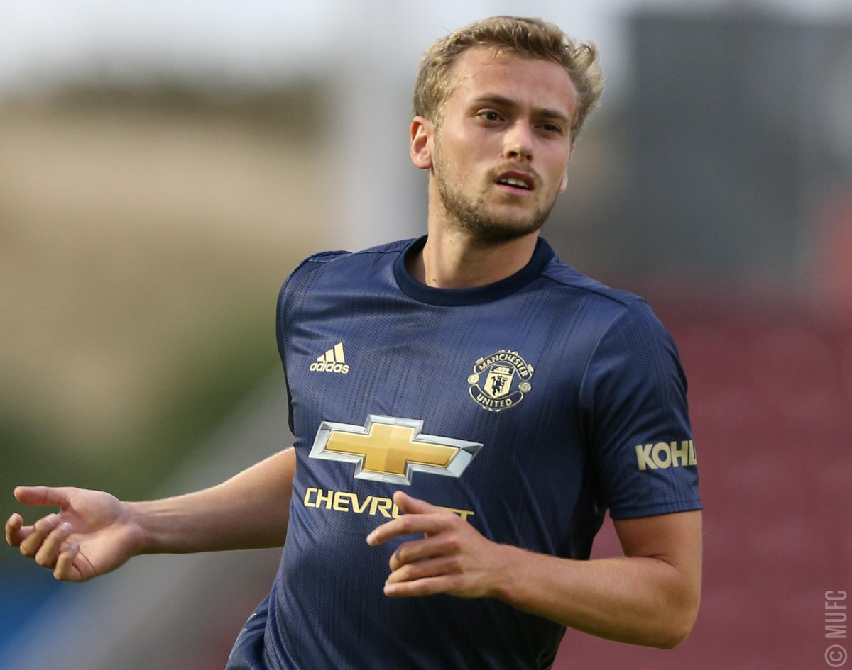 Manchester United's photo on James Wilson