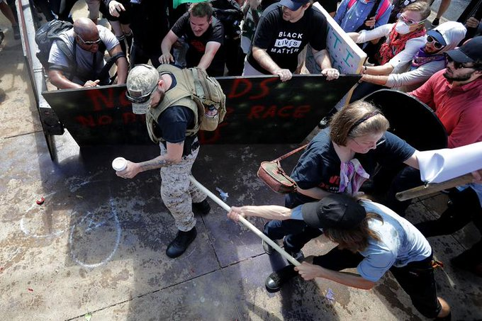 Republican congressman says Russia helped fan flames of racial tension in Charlottesville. Foto
