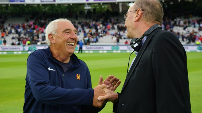 Let's hope Mick Hunt is having a well deserved lie-in today! The @HomeOfCricket head groundsman prepared his last Test wicket before he retires after almost 50 years of service. #bbccricket #ENGvIND Photo