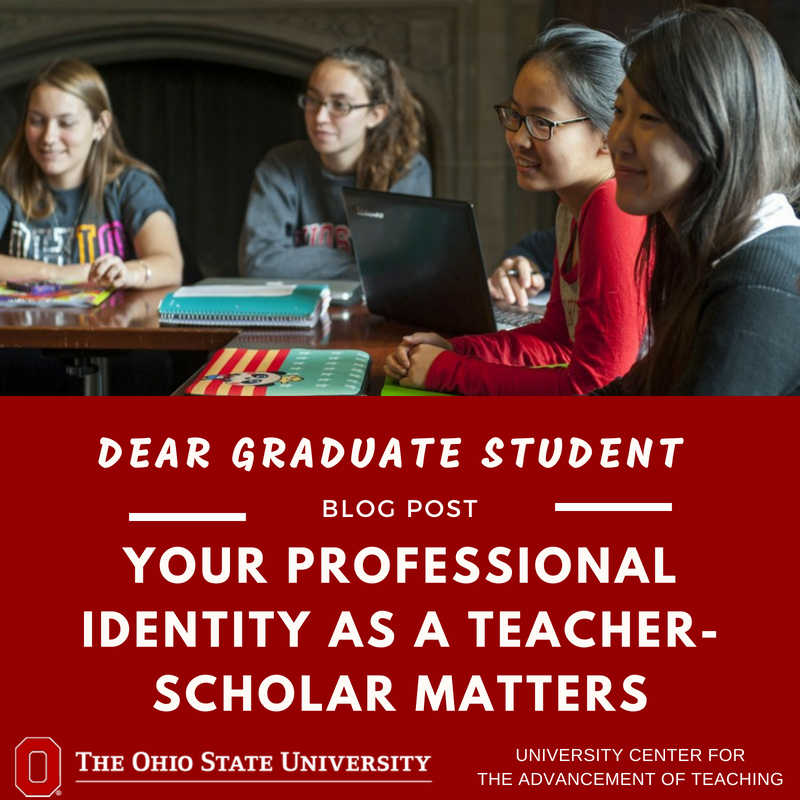 """""""Dear New Graduate Student, Welcome to The Ohio State! As you begin your graduate journey, it's important to remember that you belong here at Ohio State and we are invested in your success."""" https://t.co/uePhIHVkxo"""