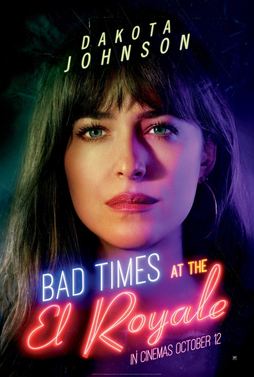 Looks can be deceiving. Dakota Johnson stars in Bad Times At The El Royale. In cinemas October 12. <br>http://pic.twitter.com/b8x9CCbsX1
