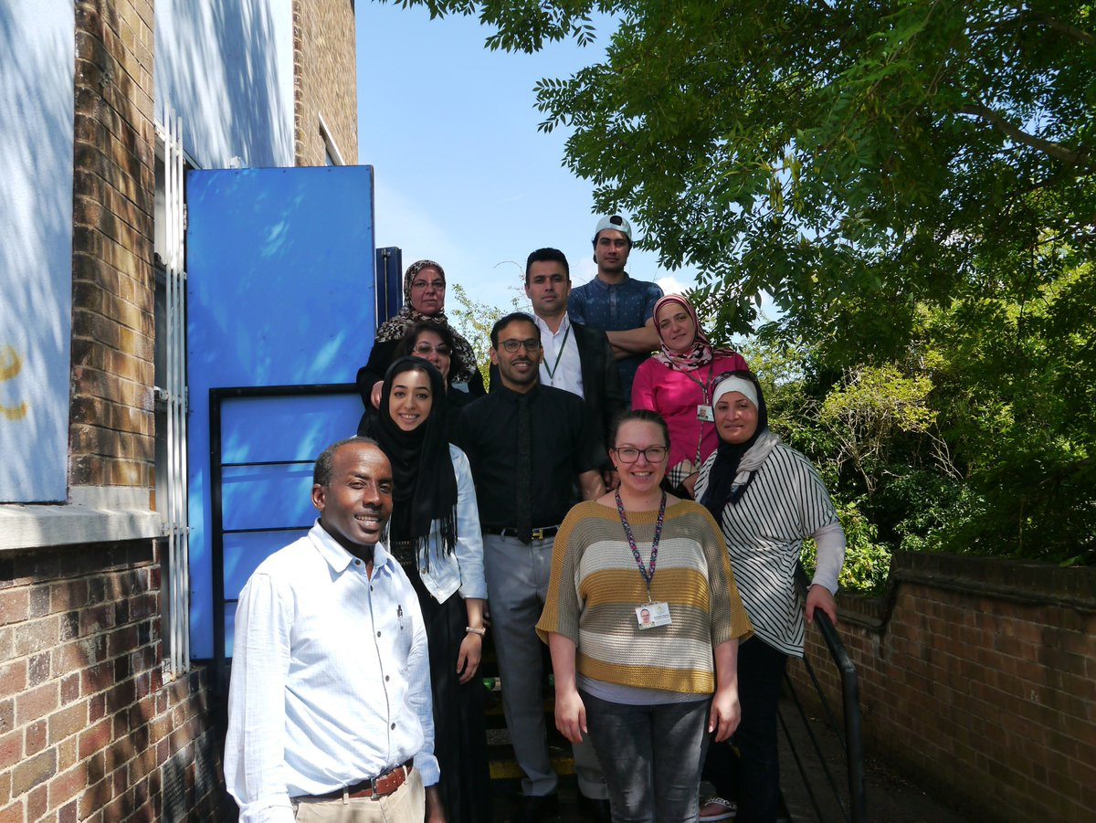 Who are we?  We are a community interest company. All our profits go towards training and employing interpreters or funding the vital work of our partner: Nottingham &amp; Nottinghamshire Refugee Forum. <br>http://pic.twitter.com/YCZir30e0l
