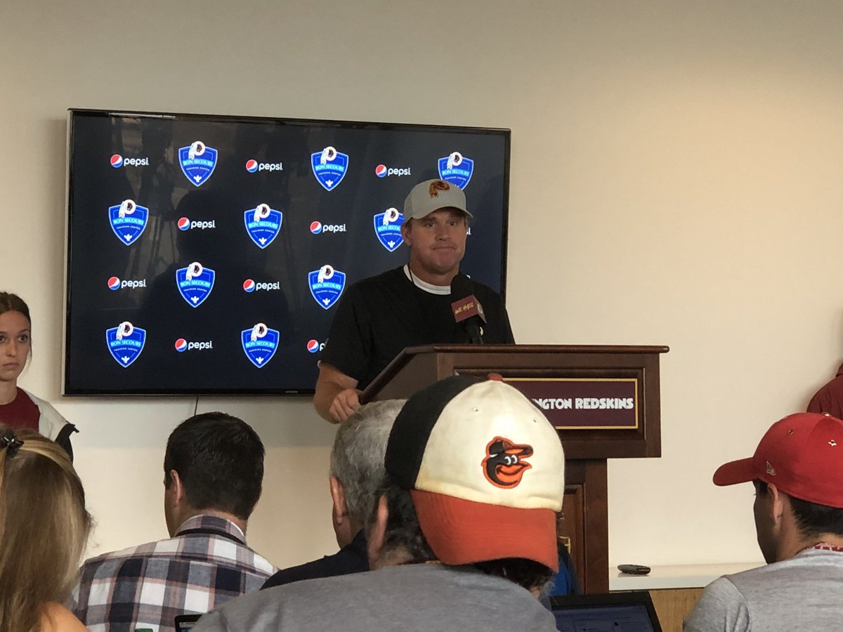 """#Redskins HC Jay Gruden on new NFL rules """"You could probably throw a flag every play"""" @wusa9 @WUSA9sports"""