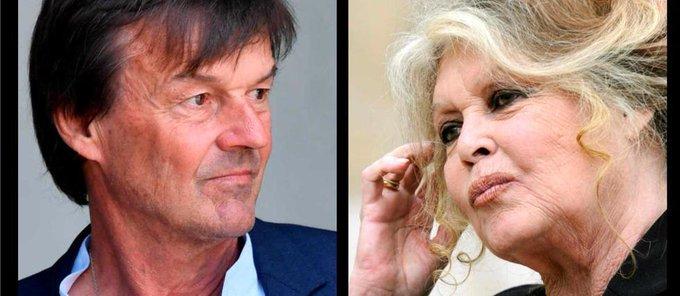 Entre Nicolas Hulot et Brigitte Bardot, la guerre est déclarée Photo