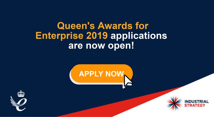 Does your company have a flair for innovation? Get the recognition you deserve with #QueensAwards Photo