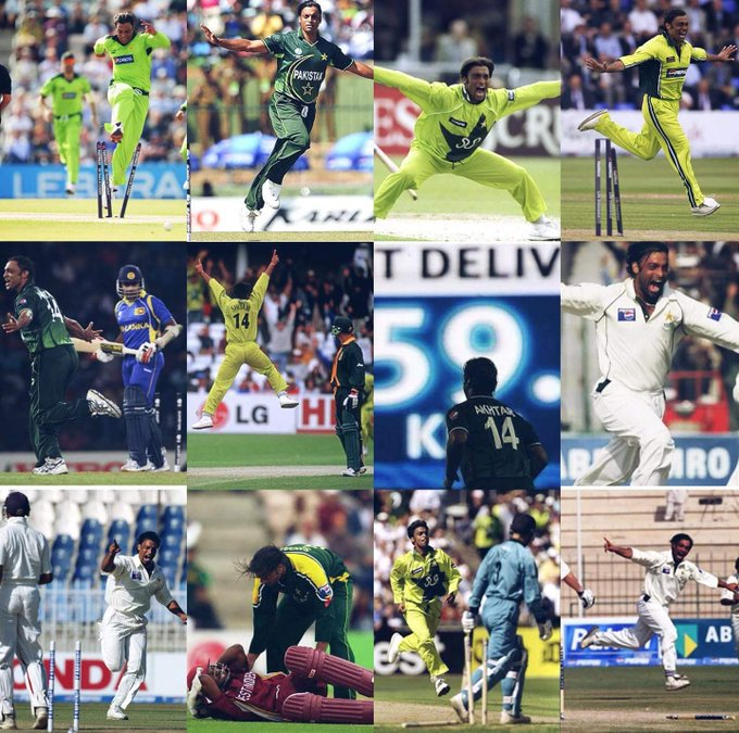 19 Batsman were retired hurt after being hit by Shoaib Akhtar..  Happy Birthday to shoaib Akhtar..