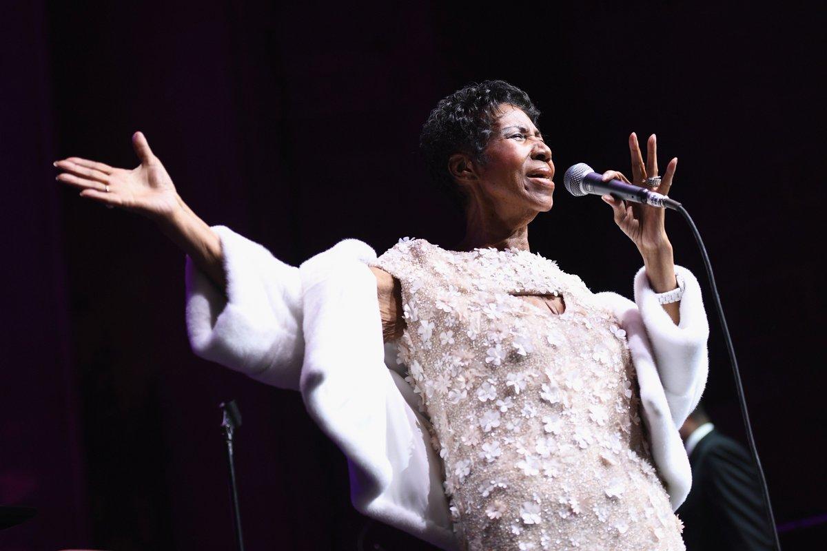 'Gravement malade', la chanteuse Aretha Franklin a été hospitalisée https://t.co/Dox6fbHbHo