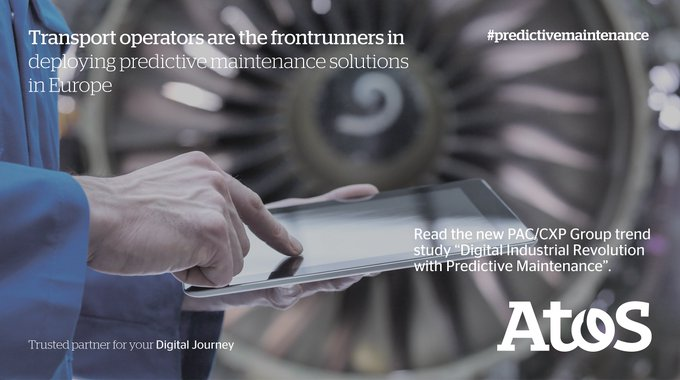 #Transport companies use #predictivemaintenance to improve operational excellence. New PAC...