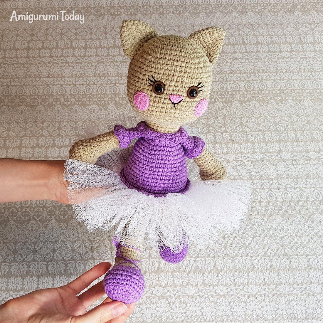 Amigurumi Cat Doll Crochet Free Patterns - Crochet & Knitting | 1100x1100