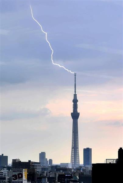 ゲリラ雷雨の関東で最大1万6700軒停電 7千軒で継続、復旧急ぐ sankei.com/affairs/news/1…