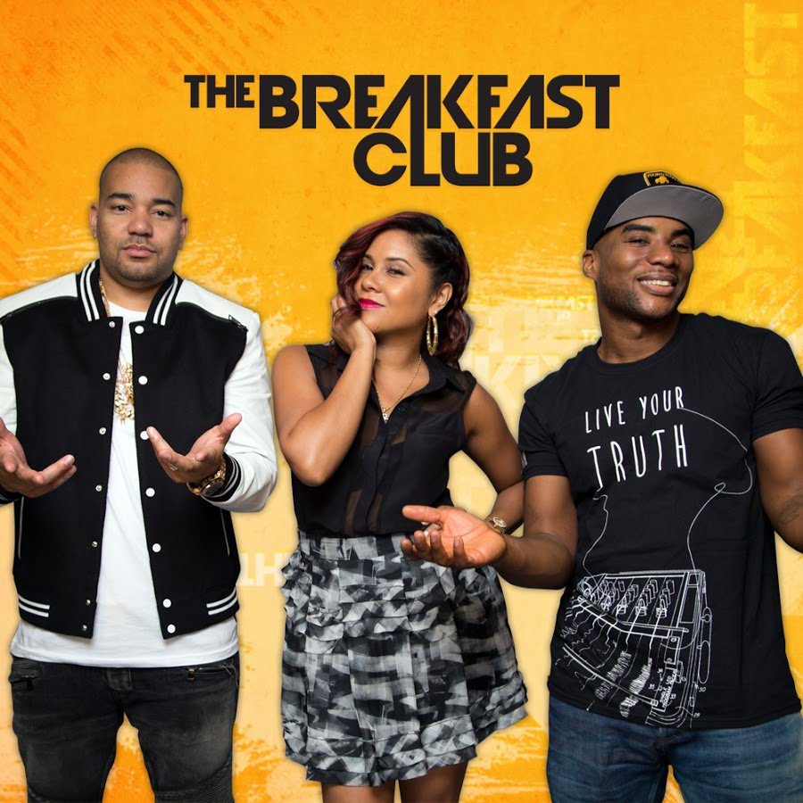 #TheBreakfastclub is LIVE!!! @djenvy @angelayee and @cthagod making your mornings worth waking up!!! &gt;&gt; tune in now  http:// bit.ly/17rTrLv  &nbsp;  <br>http://pic.twitter.com/q7BKcdcqzc