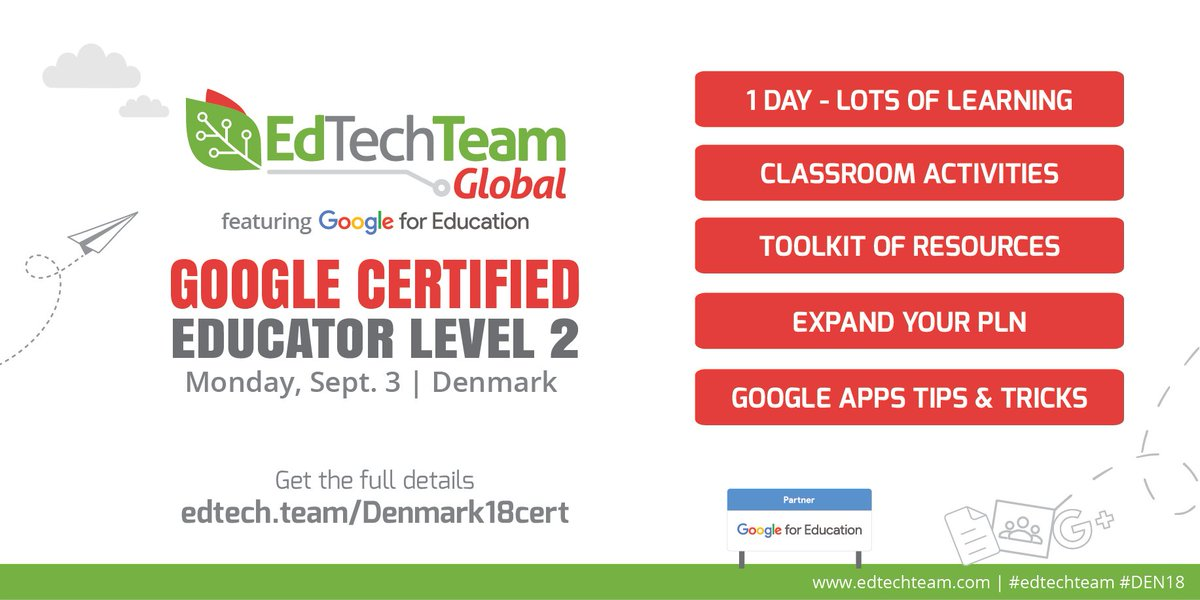 Edtechteam Inc On Twitter Want To Get Your Google Educator