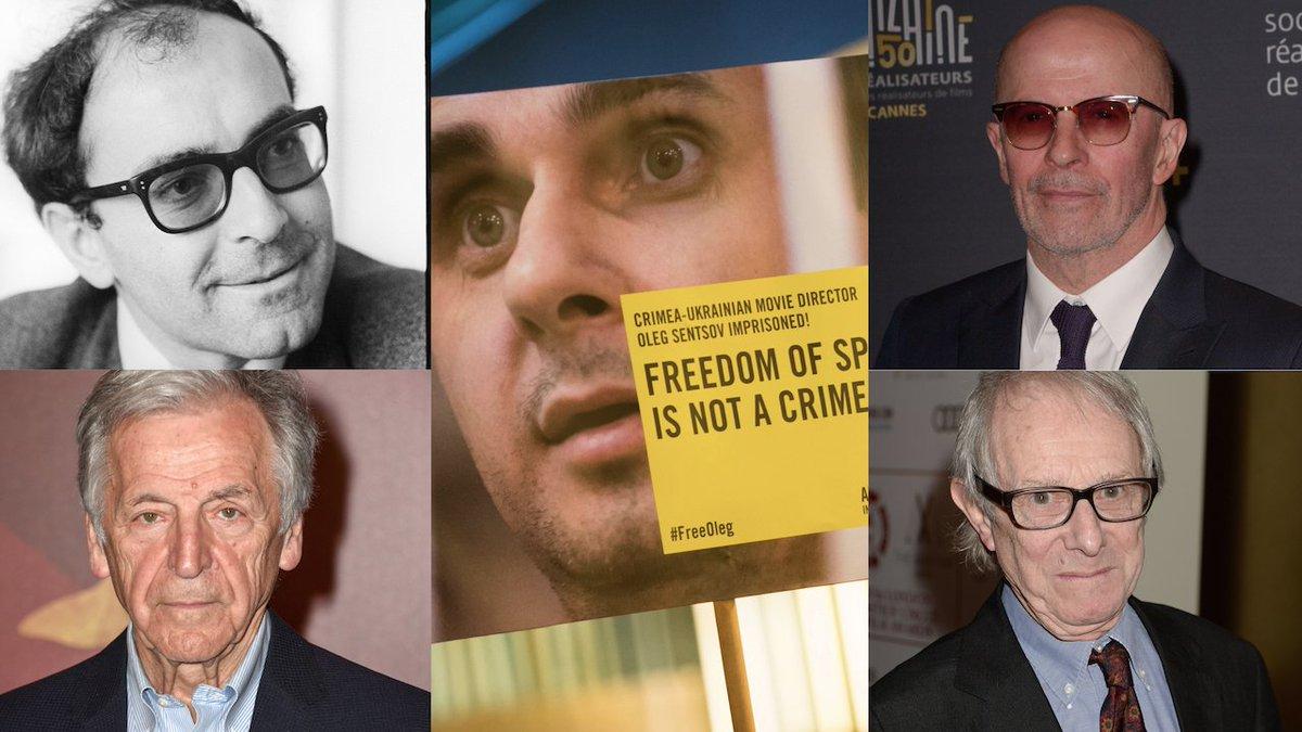 Le monde du cinéma se mobilise pour sauver Oleg Sentsov -  https://t.co/rbcfFpl0MH