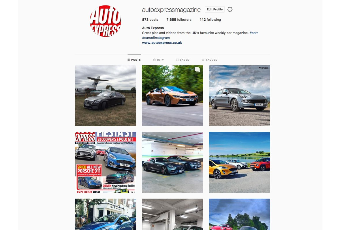 Auto Express On Twitter The Auto Express Instagram Account Is The