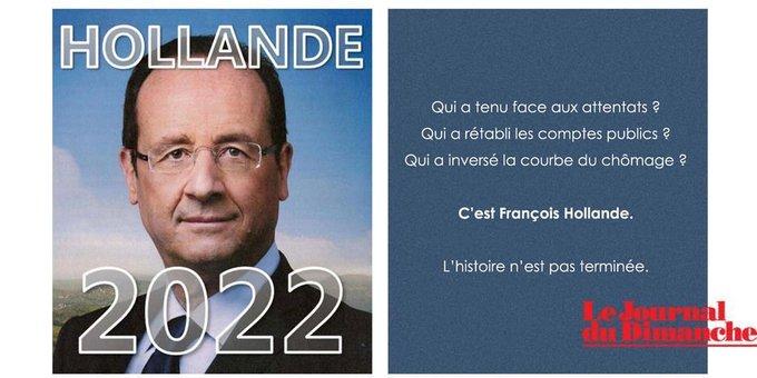 C'est un peu comme si Raymond Domenech revenait à la tête des bleus #Hollande2022 Photo