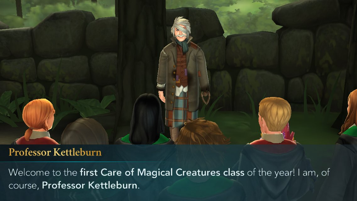 Jp On Twitter The New Care Of Magical Creatures Professor Might Be Actually Worse Than Hagrid When It Comes To Students Safety Hogwartsmystery Harrypotterhogwartsmystery Https T Co Ufo3urcybn