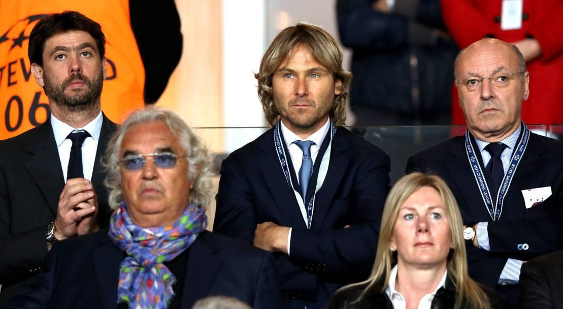 https://is.gd/aUkCQI Agnelli e Nedved, Marotta e Paratici. Nella mani di #Allegri, una #Juventus da sogno alla conquista dell\