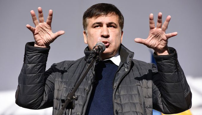 Саакашвили рассказал об уголовных делах против Порошенко в США Photo