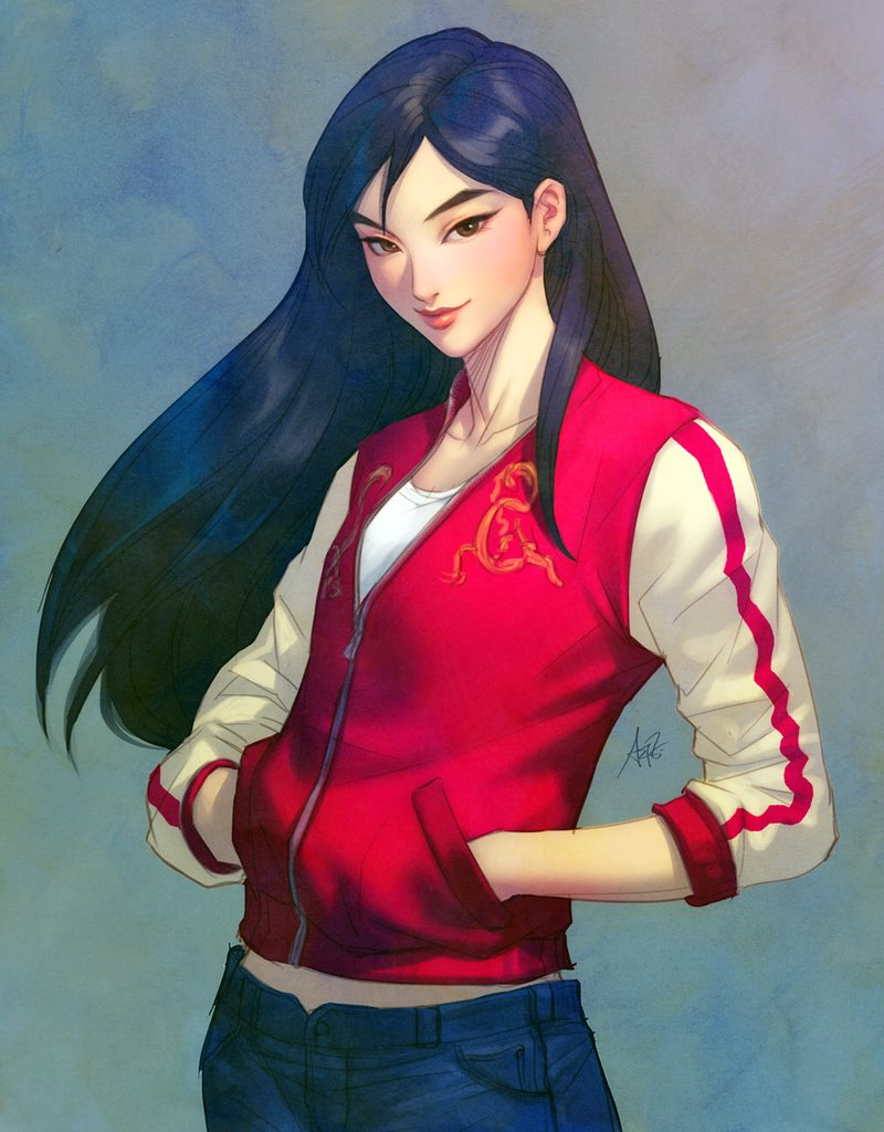 Artgerm's photo on #Mulan
