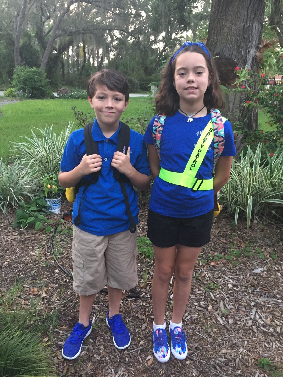 My bigs started school on Fri, while I was training w/@MomsDemand leaders at #GSU18. My son feels confident he can protect his class from a gunman with his karate skills. My daughter cries sometimes bc there isn&#39;t enough hiding space in her classroom. #LockdownGeneration #Enough<br>http://pic.twitter.com/4pFe31s5hS