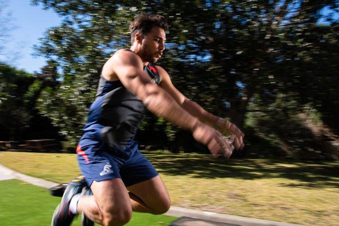 Test week kicks off at the NSW Institute of Sport. Full Gallery: #BledisloeCup #AUSvNZL Photo