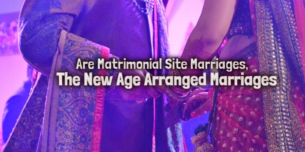 Are Matrimonial Site Marriages, The New Age Arranged Marriages!!!  #Matrimonial Sites are too coming up with #SocialNetworkingSites like features to attract more users every day :  https:// bit.ly/2MkxxFm  &nbsp;  <br>http://pic.twitter.com/U18lDlTFRD