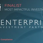 Hats off to @EnterpriseIP, one of the Most Impactful Investment award finalists at #GIA2018. Best of luck in the final race!