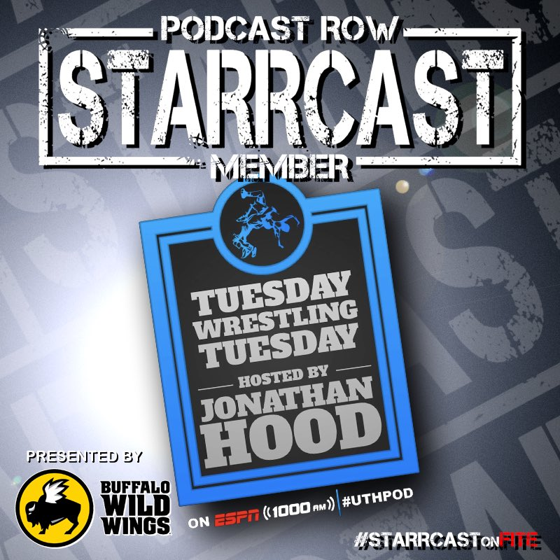 Joining us on Podcast Row at #Starrcast: ➡️ Tuesday Wrestling Tuesday with @tweetjhood