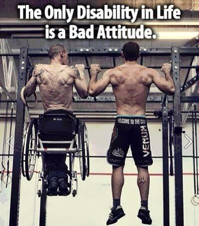 Only disability is a bad attitude. #MondayMotivation #MondayMotivaton #MondayMood #MondayMorning #mondaythoughts #MondayBlues #InspirationMonday #quotes #quotestoliveby #quotesforlife #quotesdaily #quotesoftheday #quoteoftheday #InspirationalQuotes #ernest6words #sixwordstories<br>http://pic.twitter.com/6YtpxcnNOb