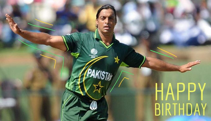 Happy Birthday Shoaib Akhtar.   ICC