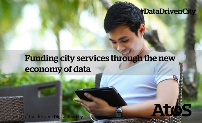 A city can open up access to #data and use it as a currency...