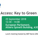 ‼️EVENT‼️ In our project framework, the event on #Airport #Access is organised on the 25 September at the @Europarl_EN. The number of tickets is limited! Register here: ➡️https://t.co/nIdQejTY7F⬅️