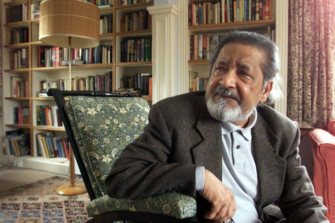 When I interviewed V. S. Naipaul, I couldn't keep the look of shock and disgust off my face. Photo