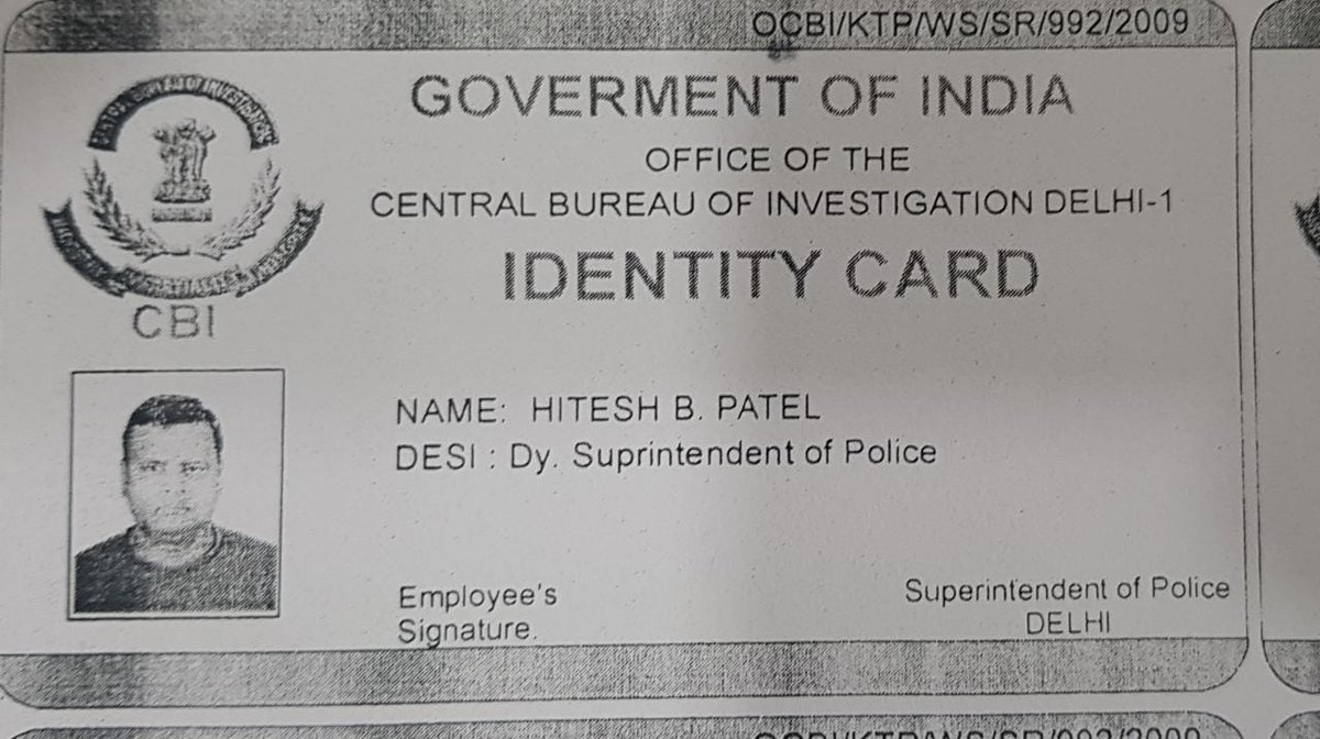 Cards Id Fake Posing Caught Our Delhi…