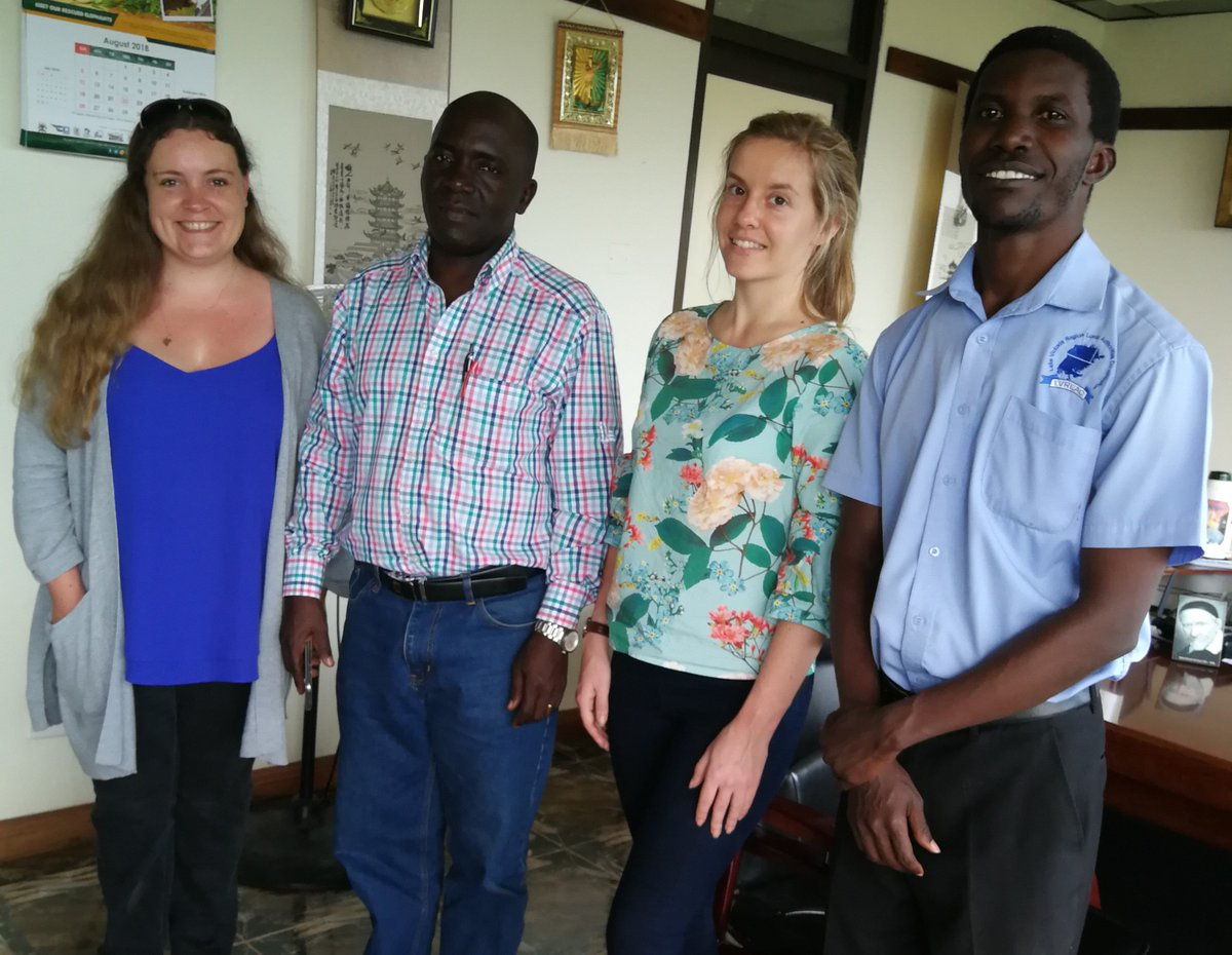 Meeting with Mayor Vincent de Paul Kayanja of Entebbe Municipal Council, who is also on @ICLEIAfrica's committee, to discuss the way forward for the #UNARivers project in #Entebbe, #Uganda  More info on project: https://t.co/WMaO6Z3K3r
