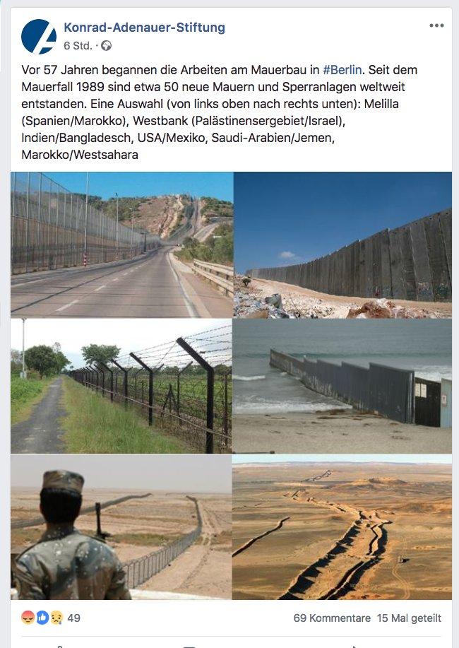 04119f5547263f Man veröffentlicht zum Jahrestag des Mauerbaus daneben Fotos der Anlagen