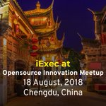 Image for the Tweet beginning: iExec attend the OSC OpenSource