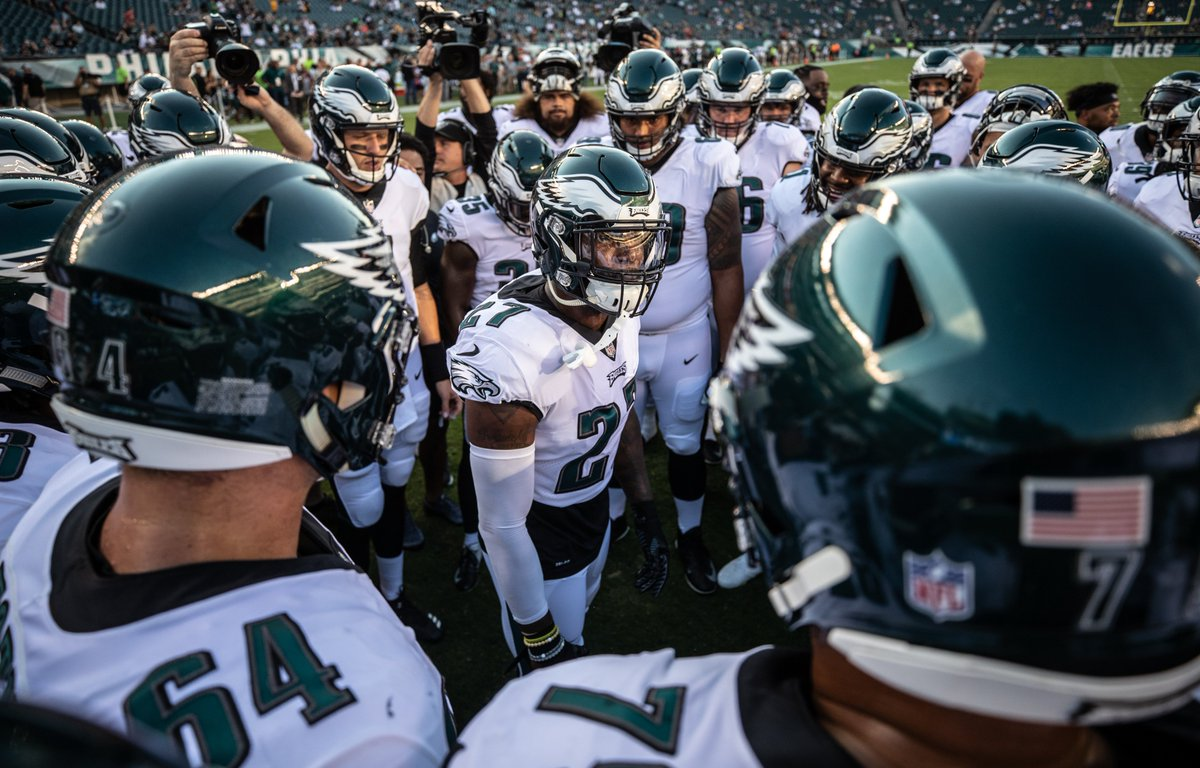 Get up, its another day of #EaglesCamp. #FlyEaglesFly