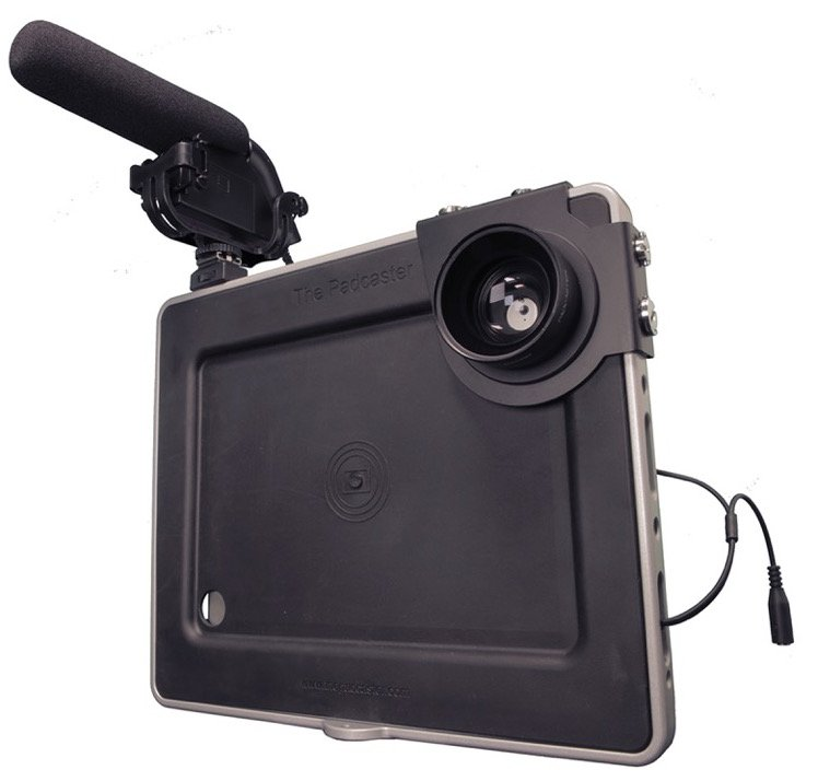 Thanks to innovations like the @padcaster the iPad is making a comeback for all-round video production #videocontent #videomarketing  http:// ow.ly/WGlF30lfJwE  &nbsp;  <br>http://pic.twitter.com/40jfocaWdO