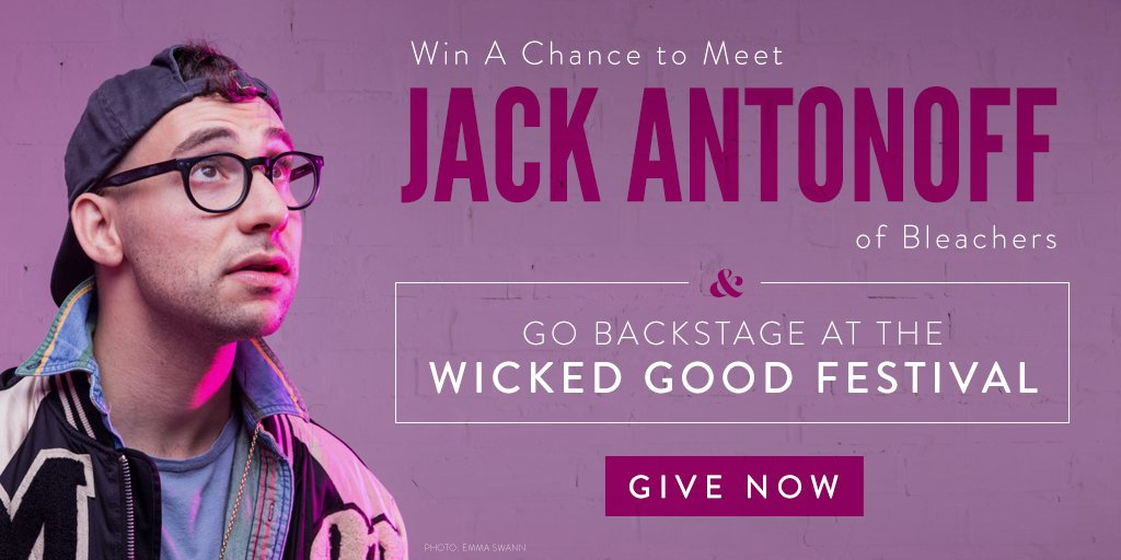 This week only! Pitch in $5 or more to our #YesOn3 campaign and you'll be entered to meet @JackAntonoff with VIP meet-and-greet passes at next weekeend's @bleachersmusic show at #WickedGoodFestival in #Boston! Give now and be entered to win: https://t.co/sM2yqAc8Tb