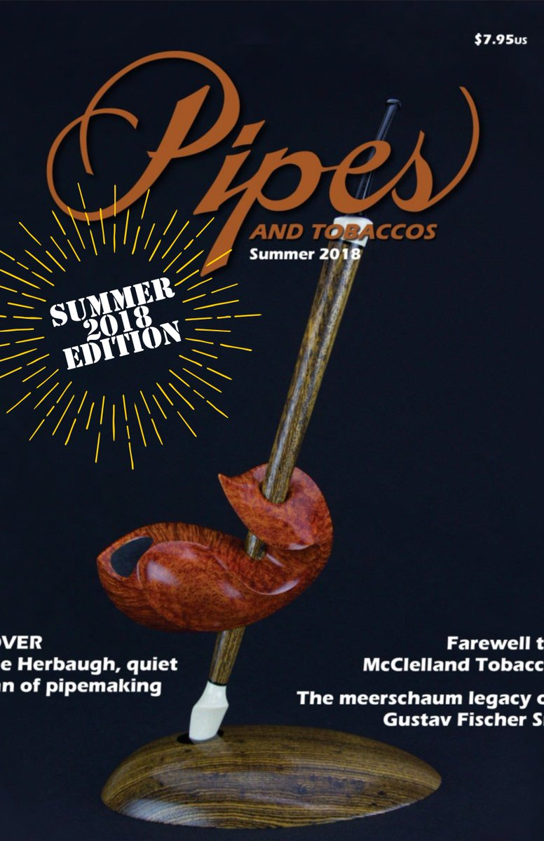 Have you checked out the summer edition of this years Pipes and Tobaccos magazine?   Subscribe here: https://pipesandtobaccosmagazine.com/subscription_services/…