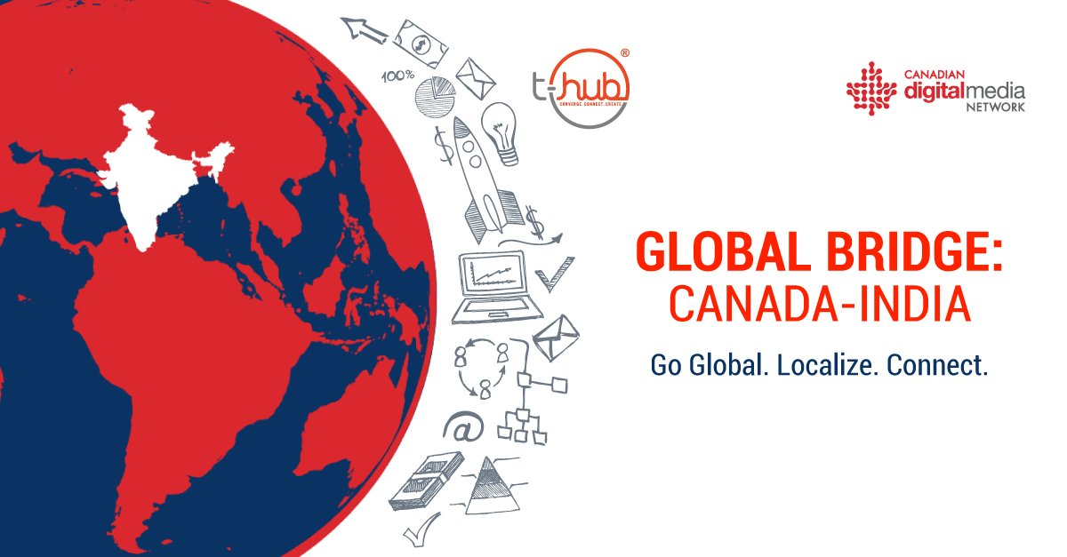 RT @Venn_Innovation: Calling all #cleantech companies: Enter the #Indian market with ease through @THubHyd and @CDMN's Global Bridge: Canada-India program. Applications are now OPEN! Learn more &gt;&gt;&gt;  https:// buff.ly/2uD7QoF  &nbsp;   @CanadaInIndia #GlobalBridgeCanIn<br>http://pic.twitter.com/XW8C1U6cTL