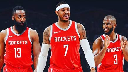 Ufficiale: Carmelo Anthony ai #Rockets. Ora parte la caccia ai Warriors http://rosea.it/b1b177d3rc #NBA  - Ukustom