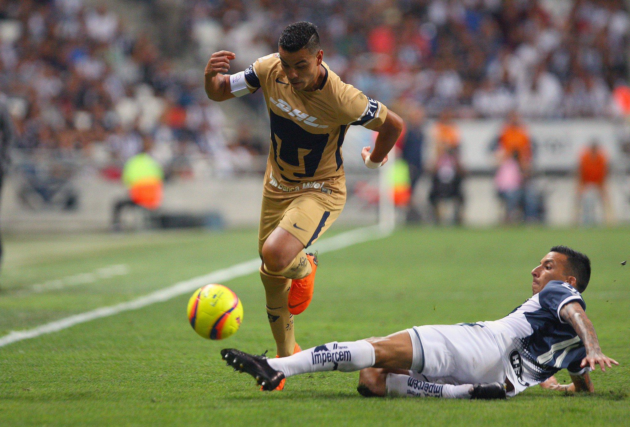 Monterrey derrotó 1-0 a los Pumas