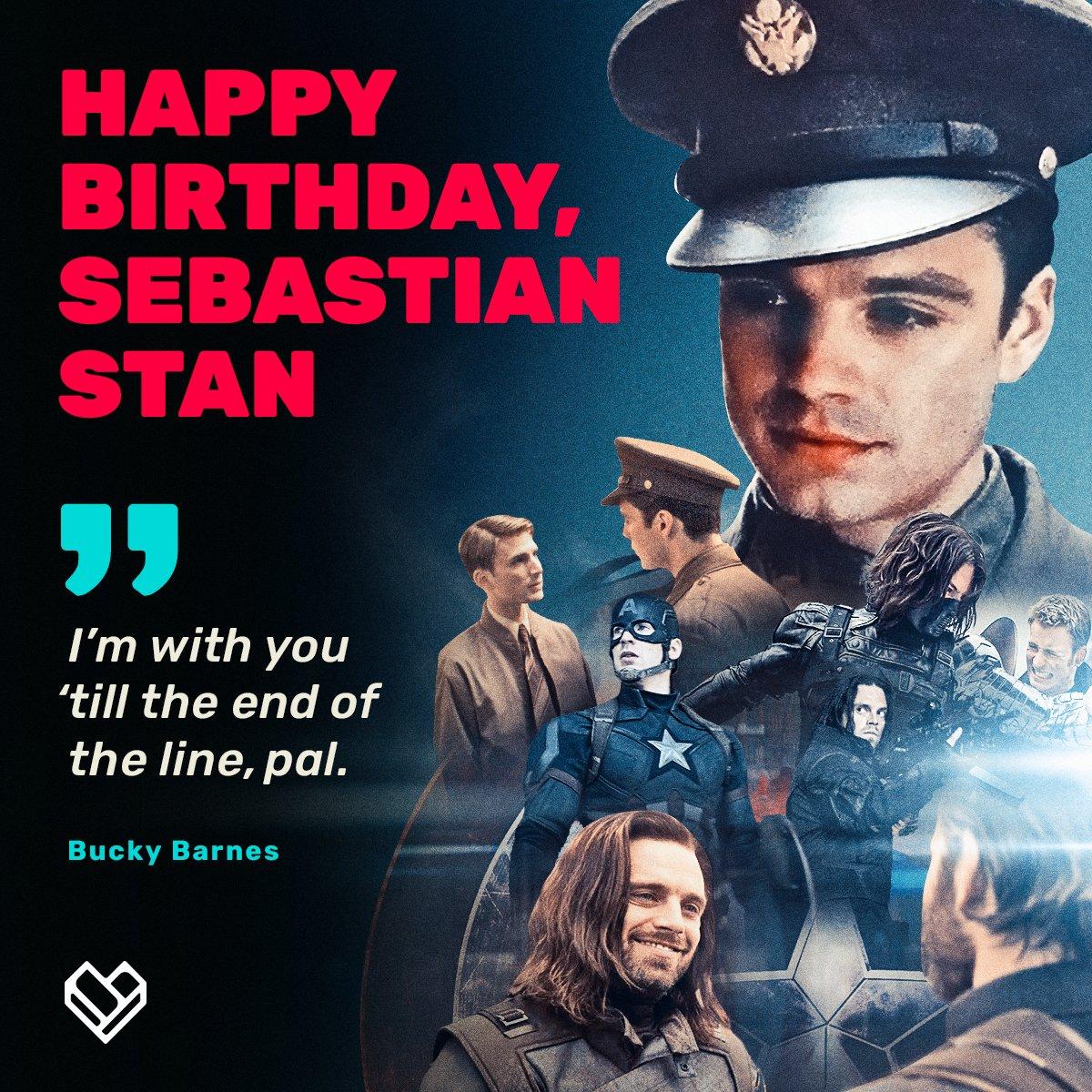 Happy Birthday Sebastian Stan A.K.A the ultimate BFF