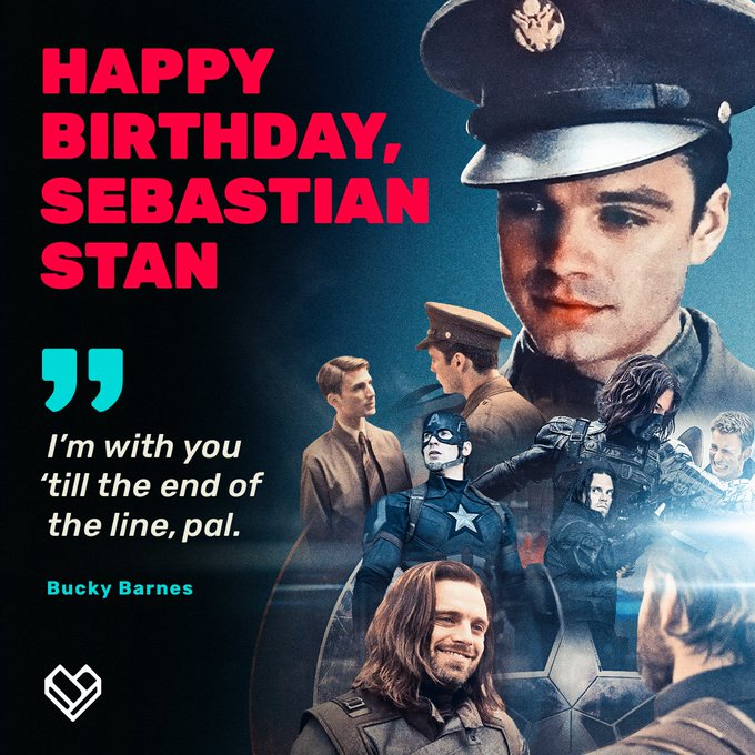 Happy Birthday Sebastian Stan A.K.A the ultimate BFF