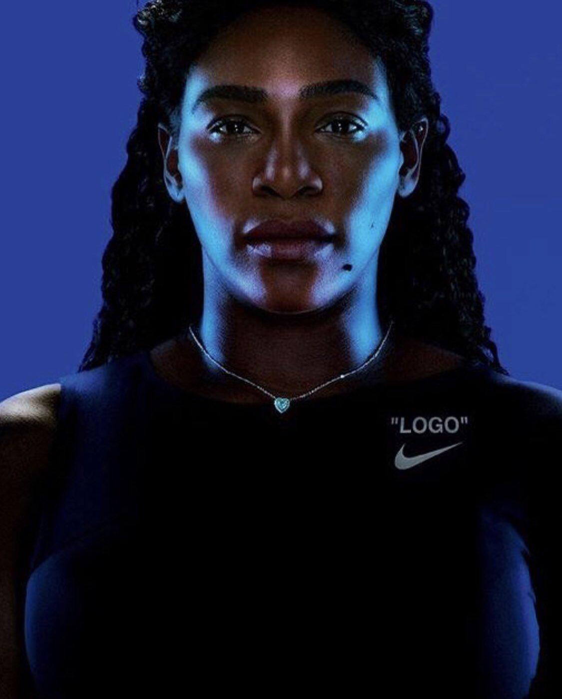 """""""QUEEN"""" @Nike  @nikewomen  @Nikecourt  @virgilabloh https://t.co/91SRvLfpt2"""