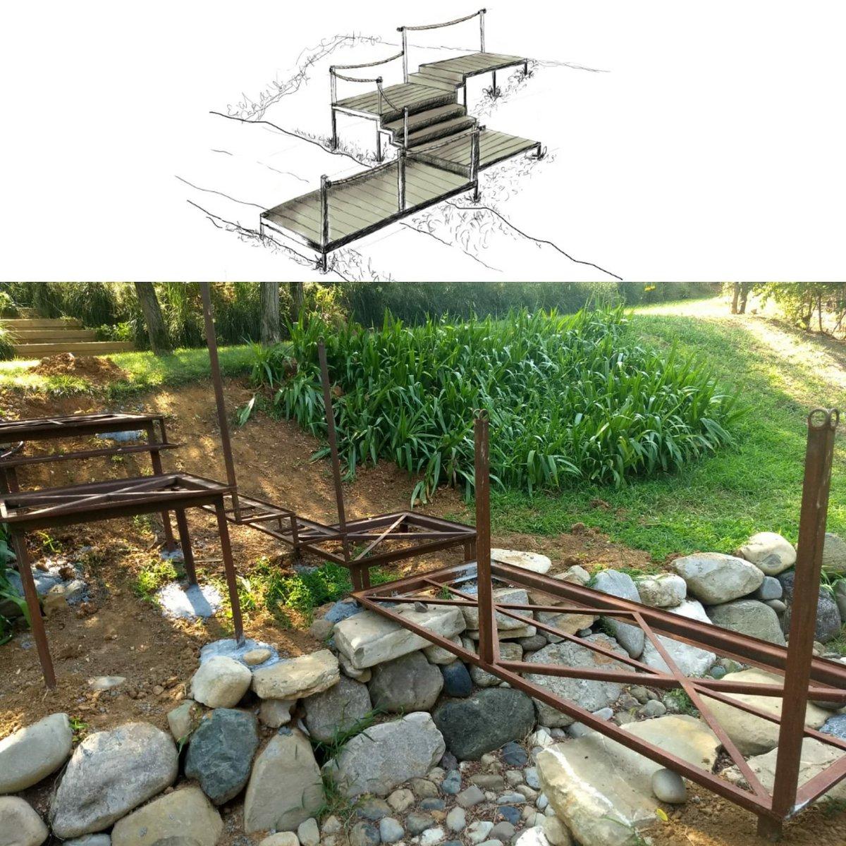 Dalla carta al fabbro per un #giardino su misura! #follow  https:// www.instagram.com/p/Bma_-ASFnT7/?utm_source=ig_share_sheet&igshid=17g6atzqhfmit#bearesigiardini #gardener #gardendesign #landscape #structure #outdoor #Piacenza #italy  - Ukustom