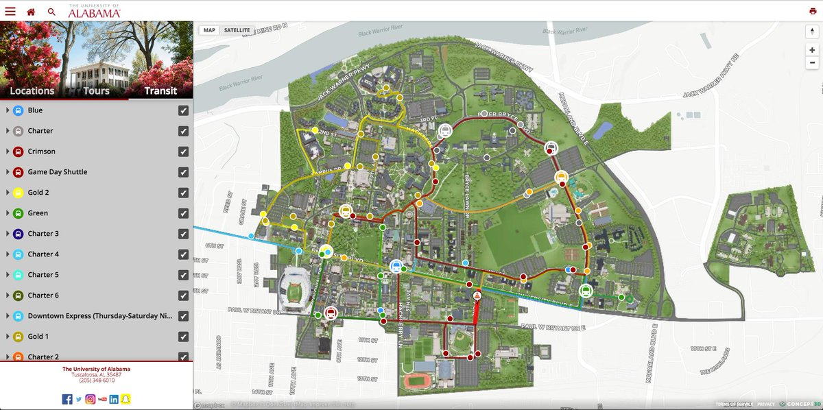 The Univ Of Alabama On Twitter It S No Secret Campus Is Big To